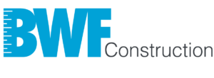 Wordmark for construction company BWF Construction