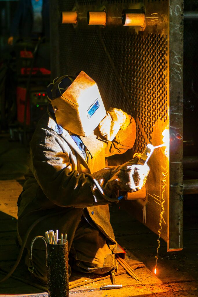 Welder for BWF Construction